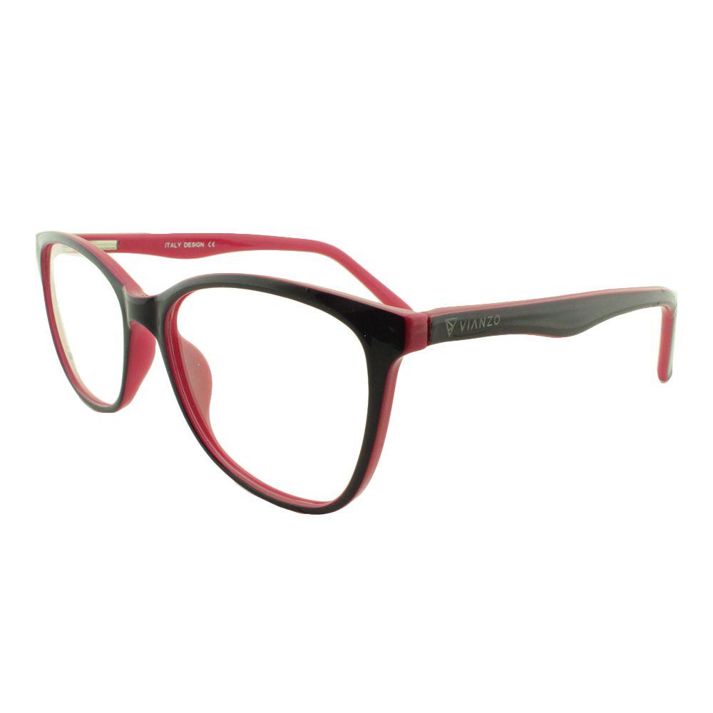 Armação para Óculos de Grau Feminino SJ0111 Roxa e Rosa Vianzo