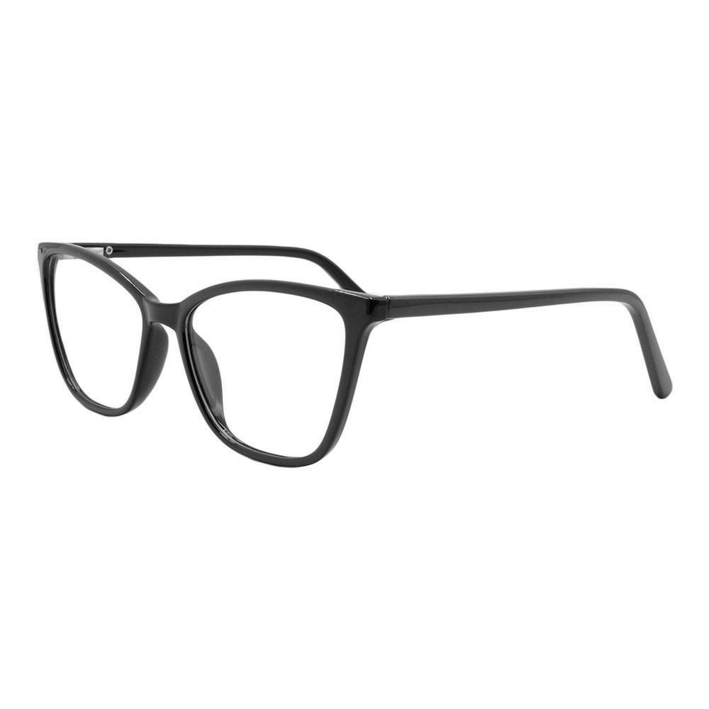 Armação para Óculos de Grau Feminino TB065 Preta