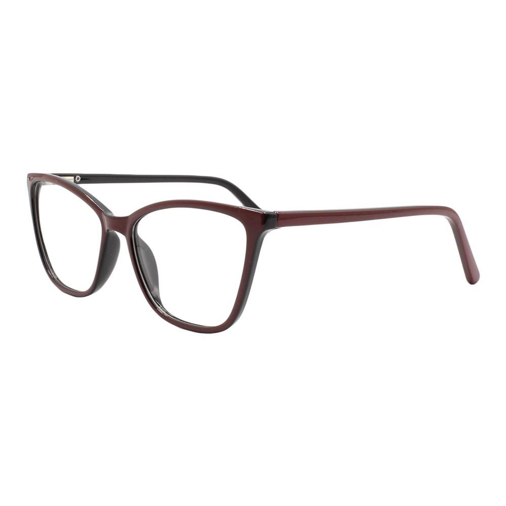 Armação para Óculos de Grau Feminino TB065 Vinho