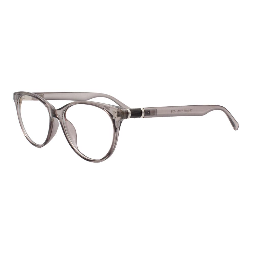 Armação para Óculos de Grau Feminino TR18087 Fumê