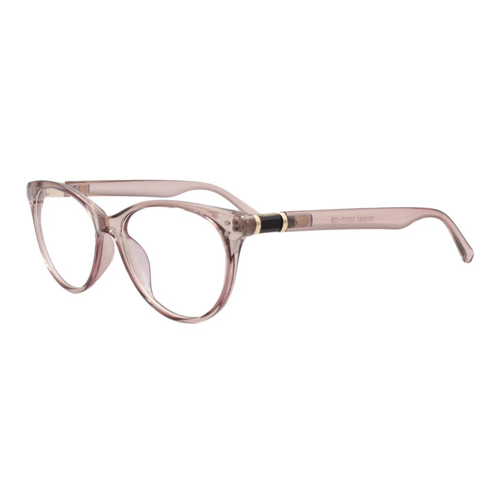 Armação para Óculos de Grau Feminino TR18087 Nude