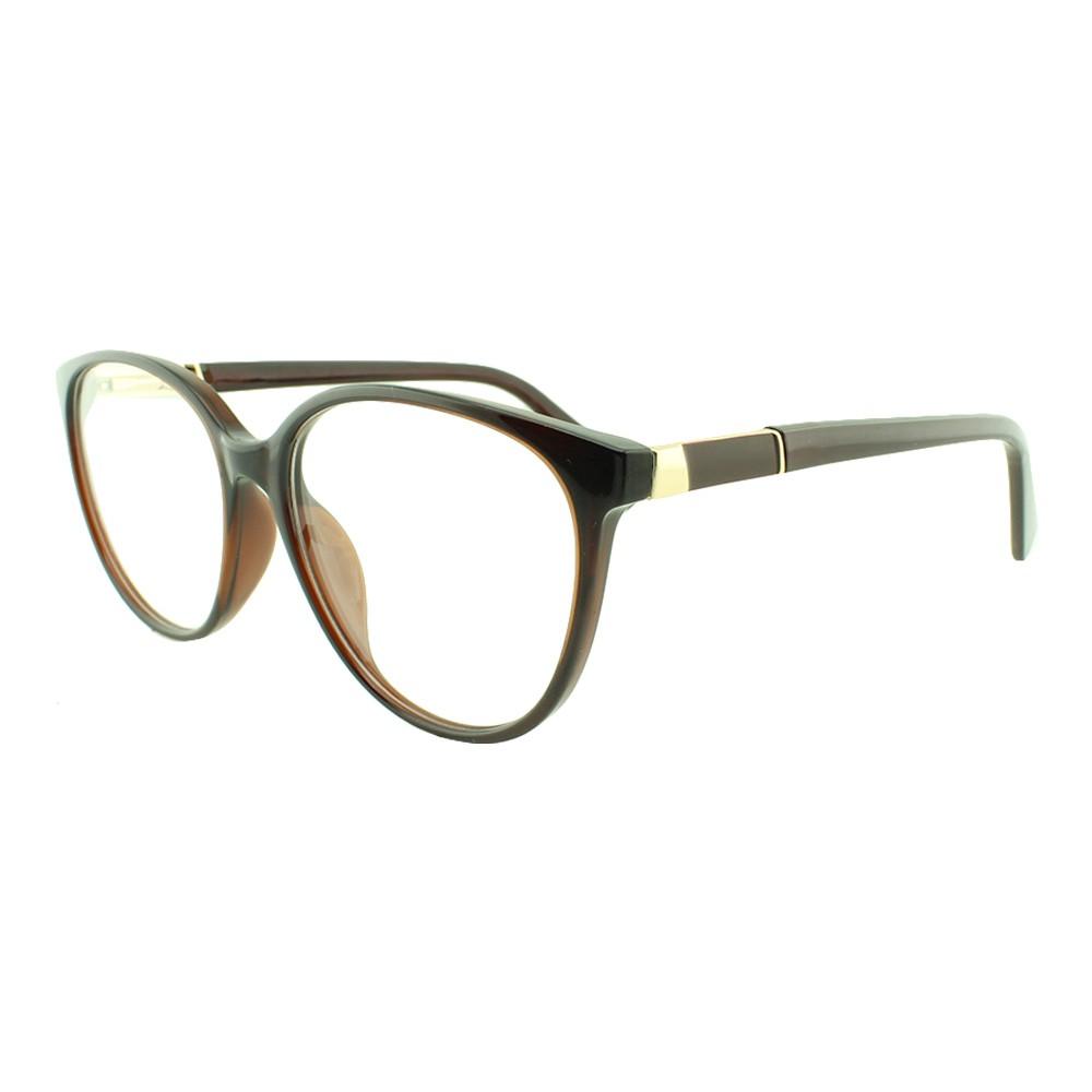 Armação para Óculos de Grau Feminino TR7239 Marrom