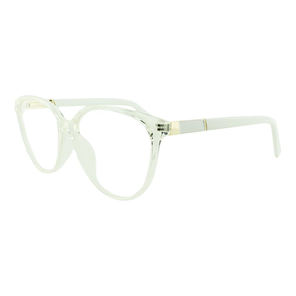 Armação para Óculos de Grau Feminino TR7239 Transparente
