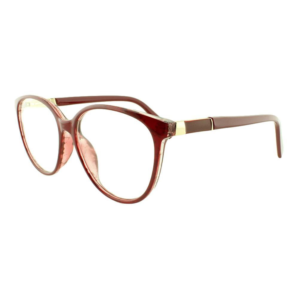 Armação para Óculos de Grau Feminino TR7239 Vinho