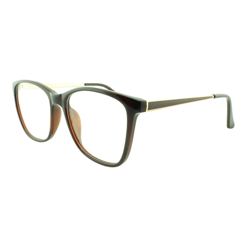 Armação para Óculos de Grau Feminino TR7251 Marrom