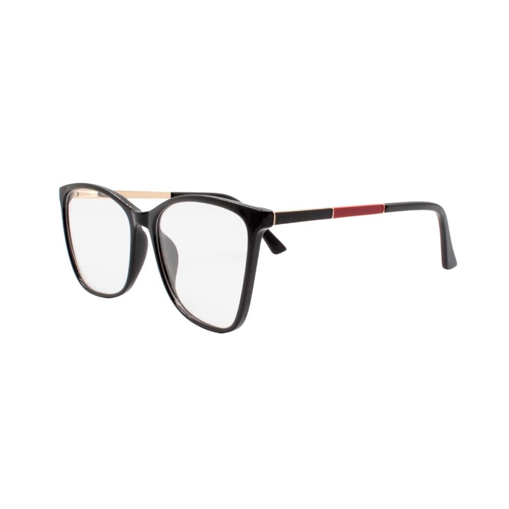 Armação para Óculos de Grau Feminino TR7302-C1 Preta