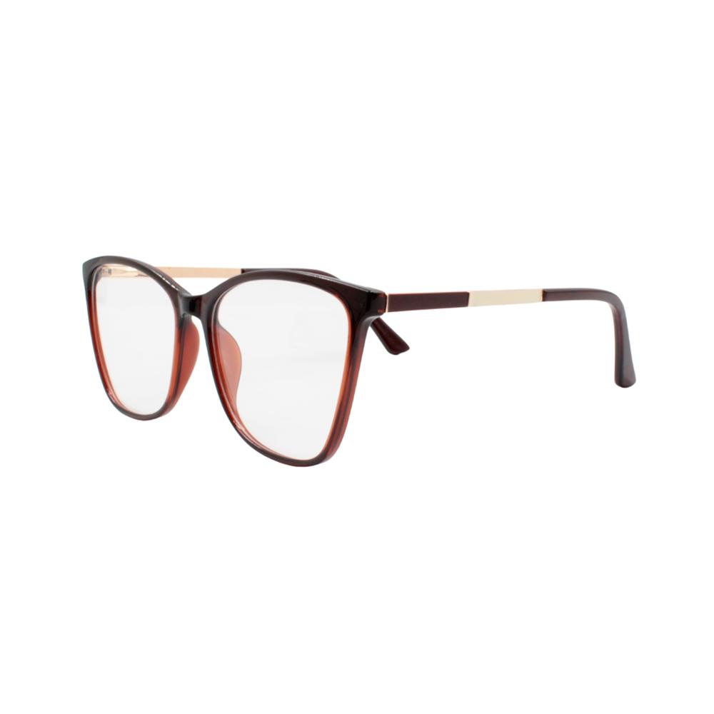 Armação para Óculos de Grau Feminino TR7302-C2 Marrom