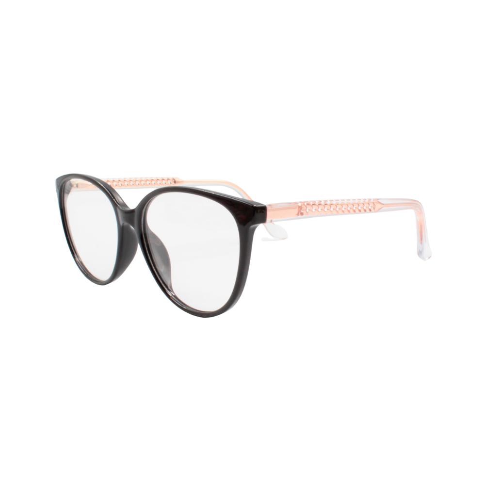 Armação para Óculos de Grau Feminino TR7332-C1 Preta