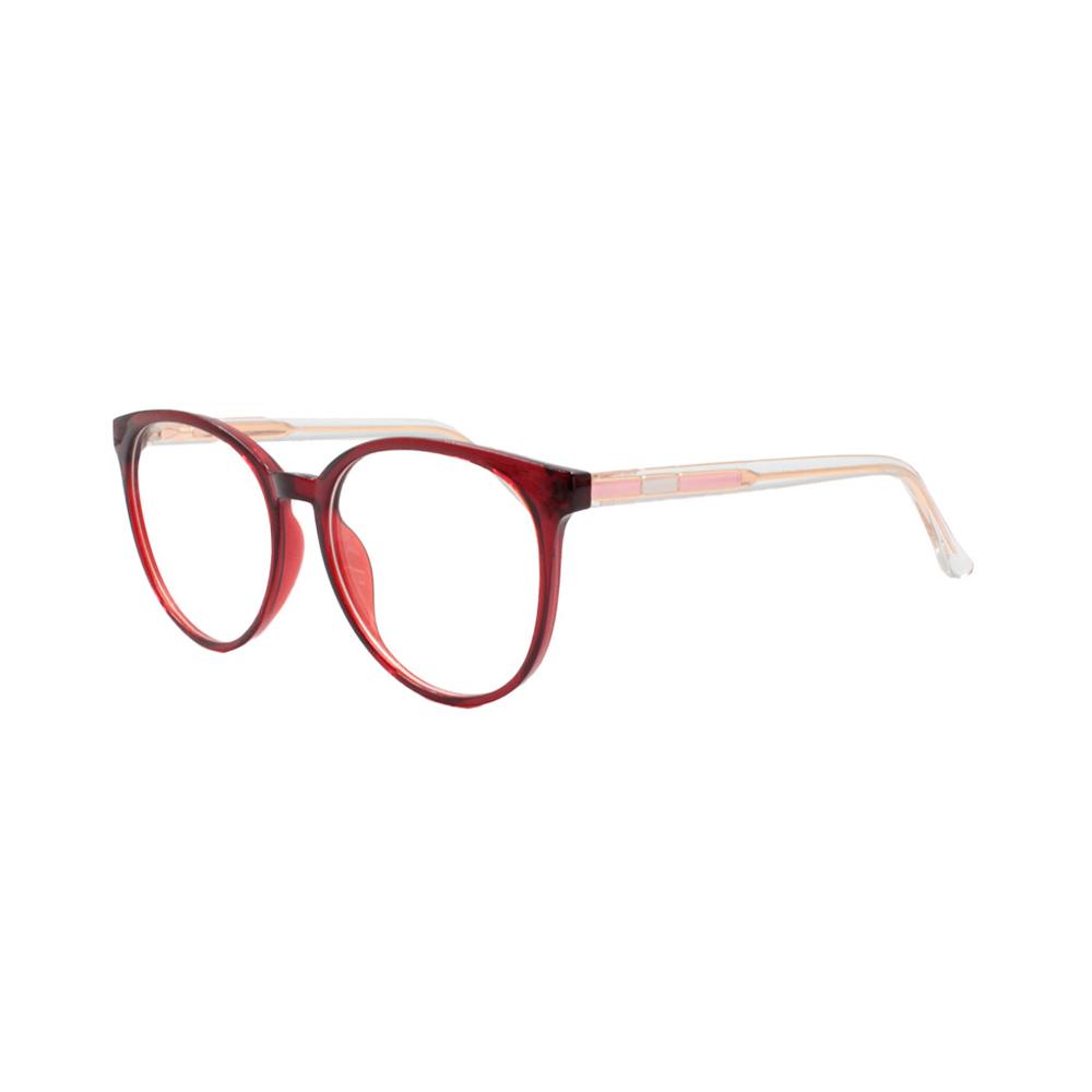 Armação para Óculos de Grau Feminino TR7503-C3 Vermelha