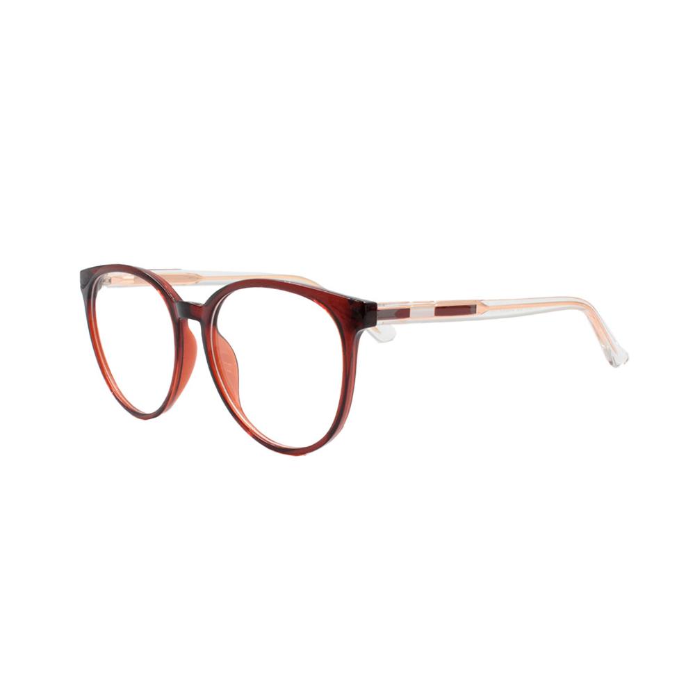Armação para Óculos de Grau Feminino TR7503-C5 Marrom