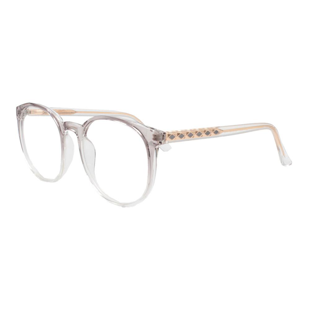 Armação para Óculos de Grau Feminino TR7521 Fumê Degradê