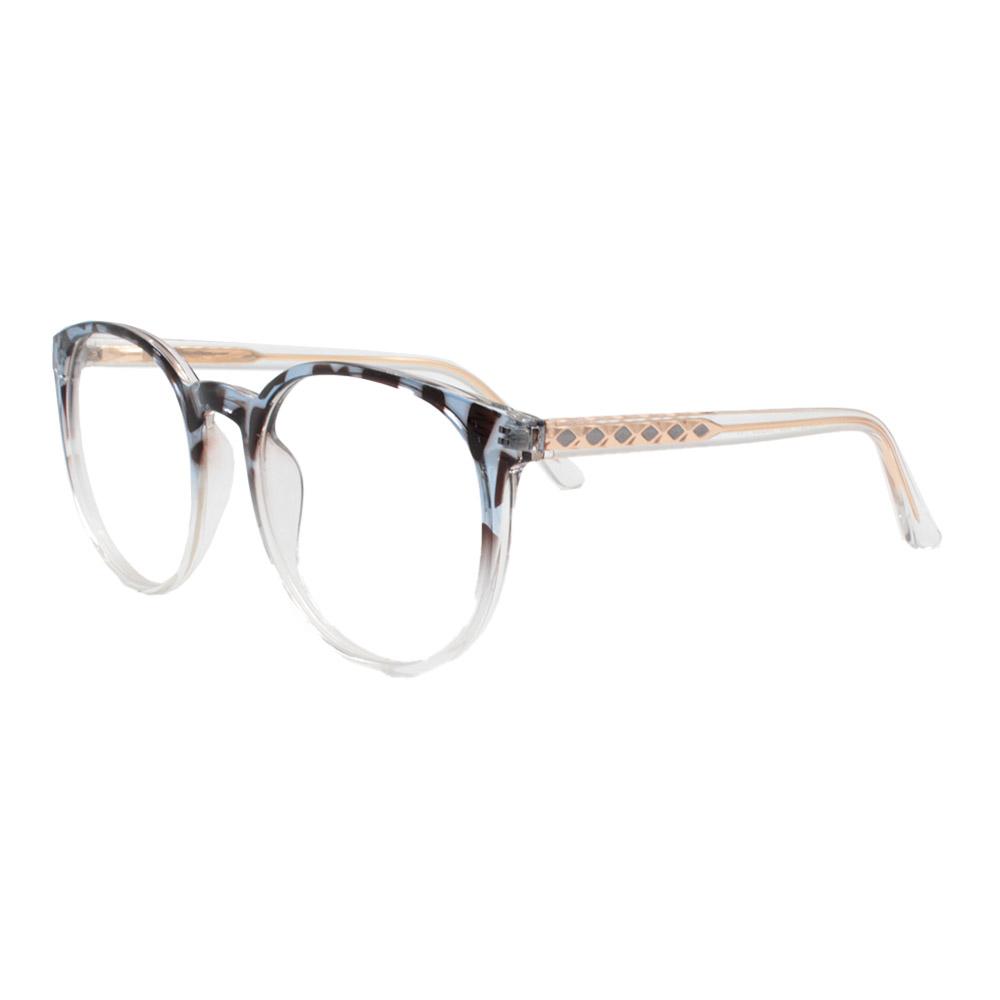 Armação para Óculos de Grau Feminino TR7521 Mesclada Degradê