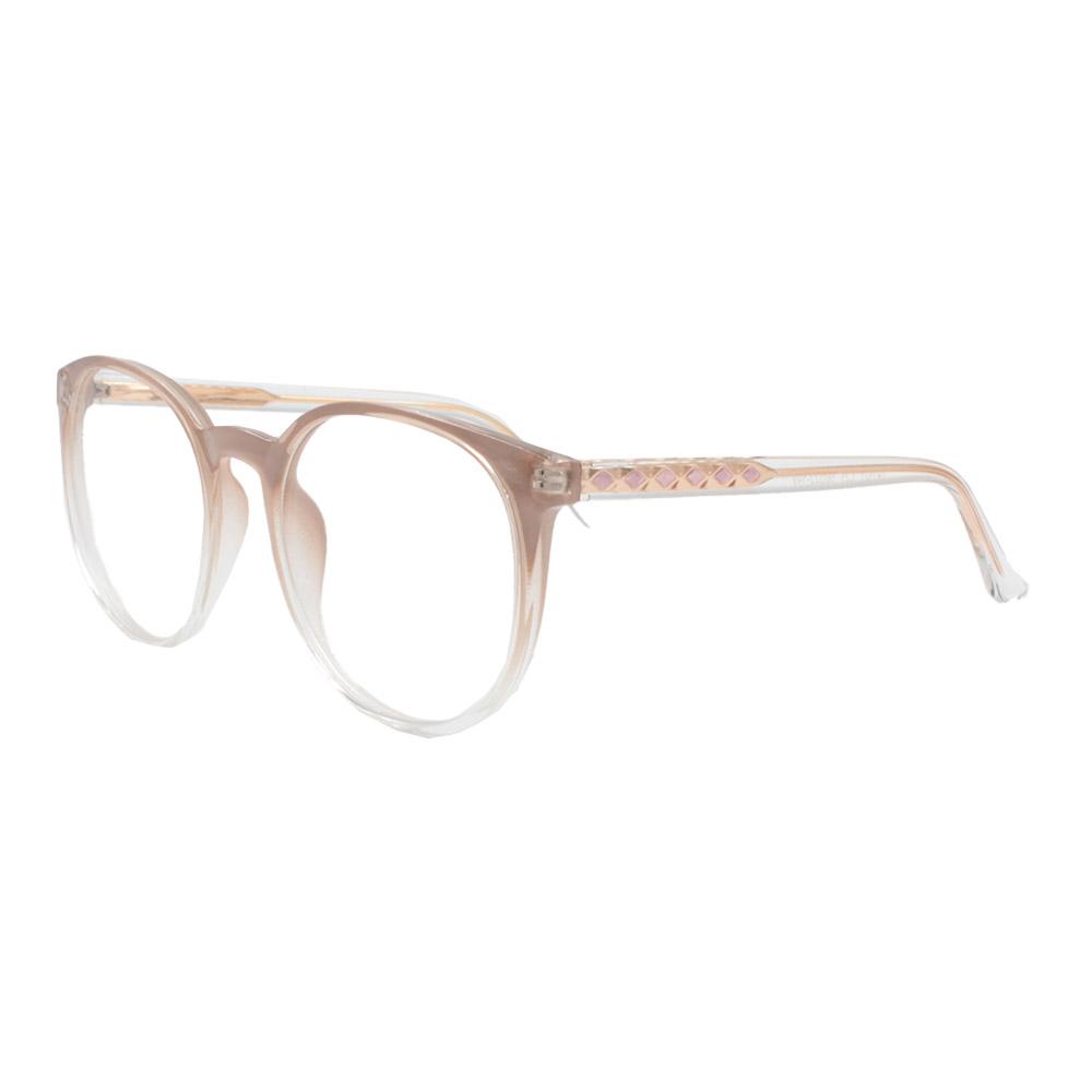 Armação para Óculos de Grau Feminino TR7521 Nude Degradê