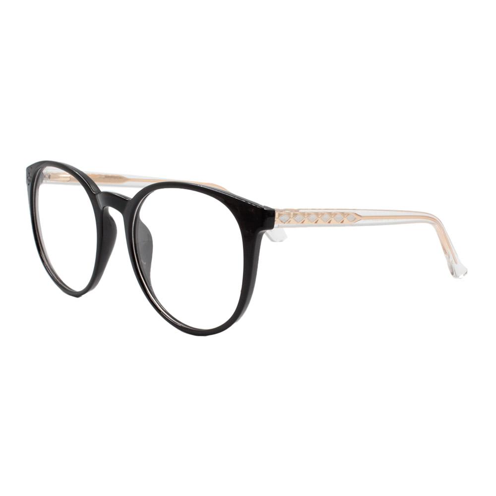 Armação para Óculos de Grau Feminino TR7521 Preta