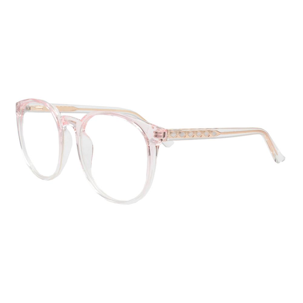 Armação para Óculos de Grau Feminino TR7521 Rosa Degradê