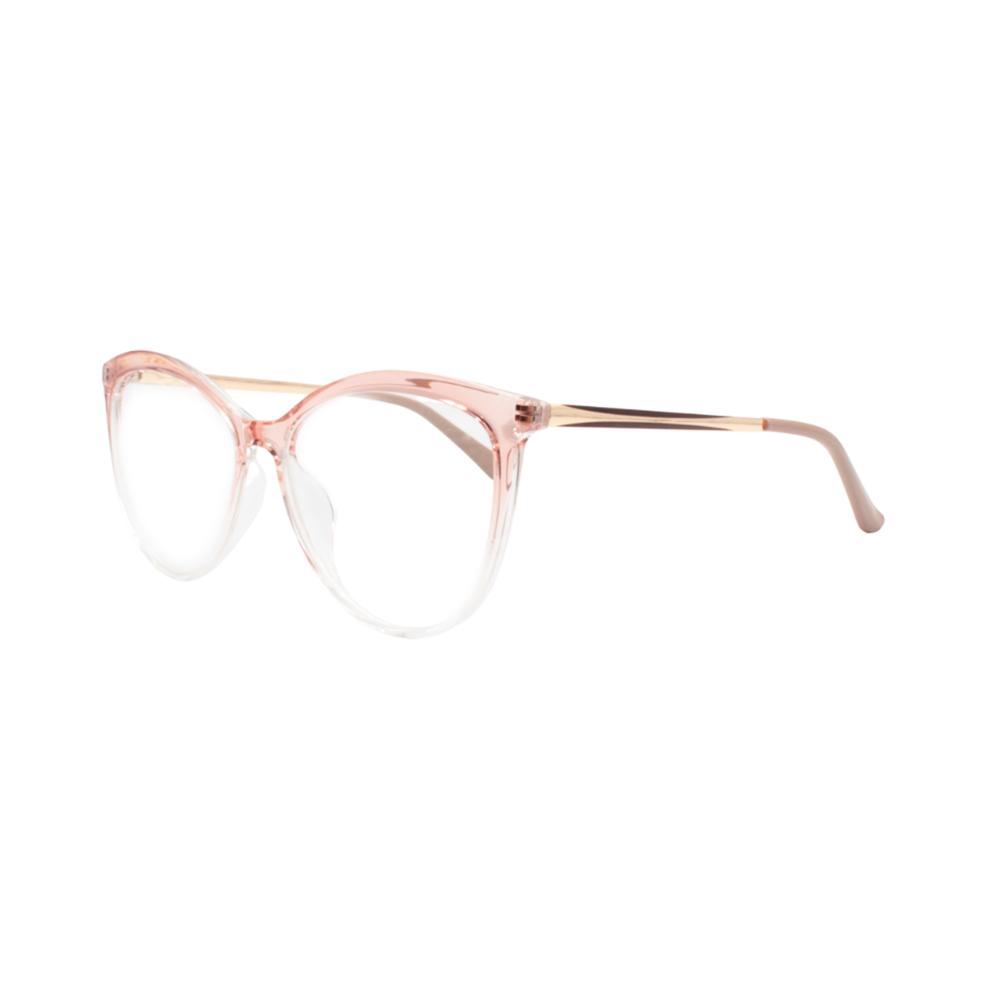 Armação para Óculos de Grau Feminino TR7526-C29 Nude Degradê