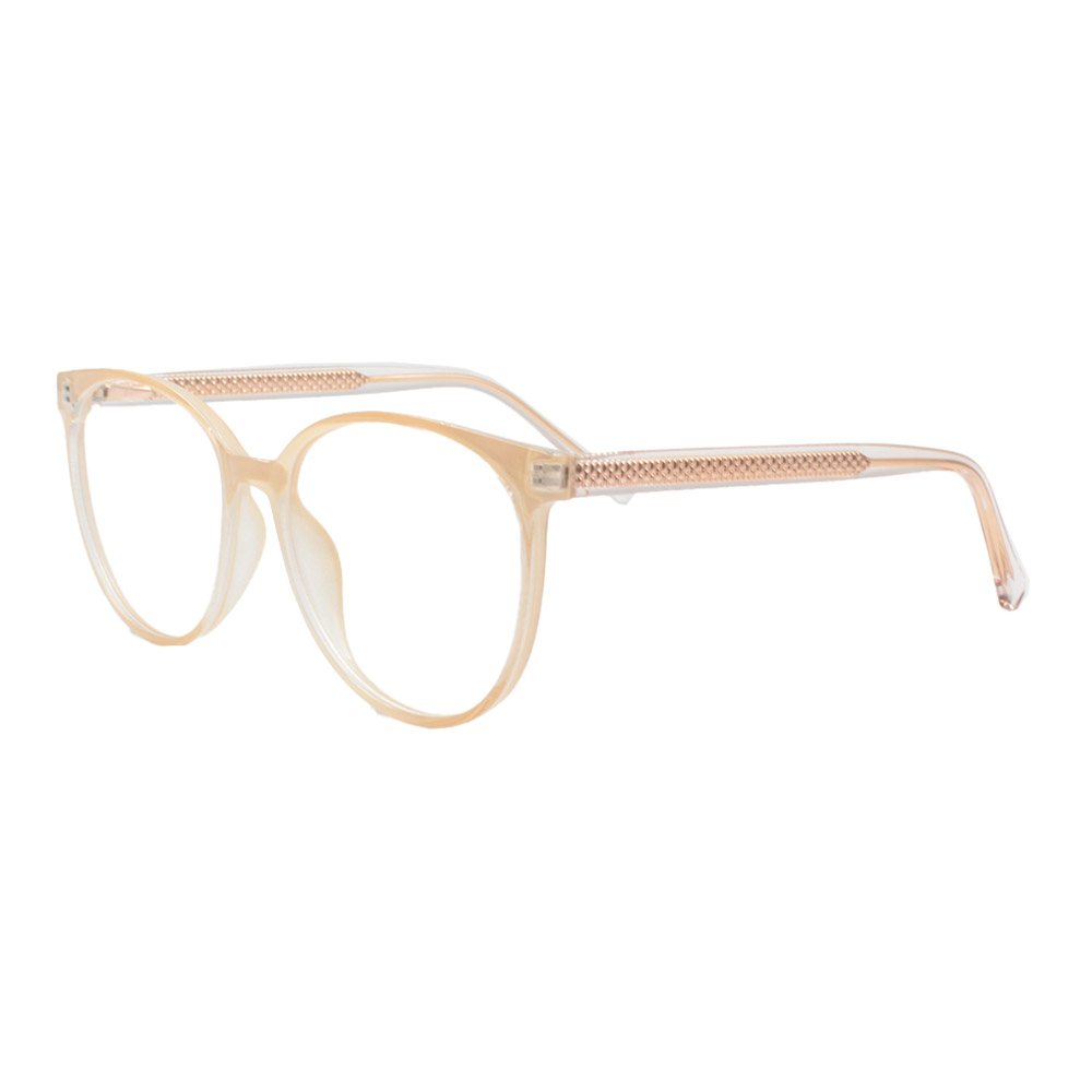 Armação para Óculos de Grau Feminino TR7532 Creme