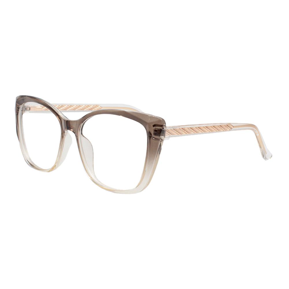 Armação para Óculos de Grau Feminino TR7549 Fumê