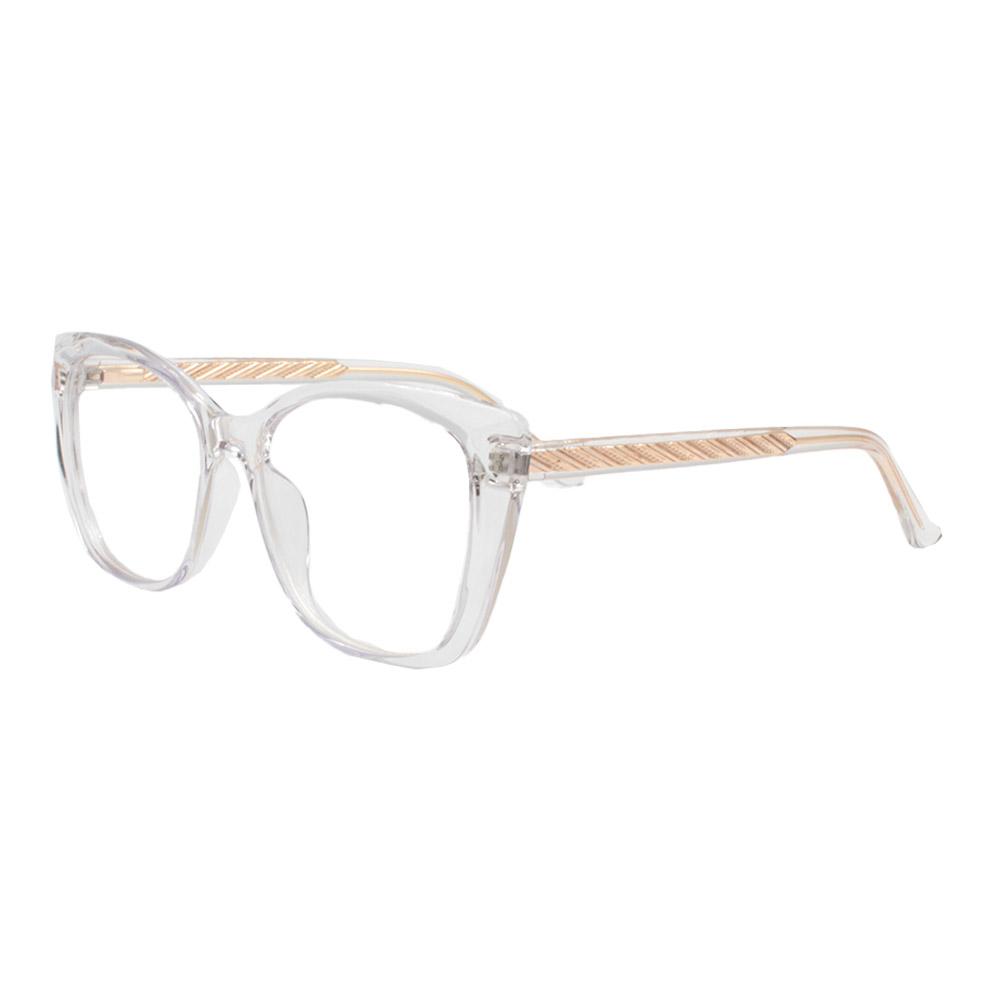 Armação para Óculos de Grau Feminino TR7549 Transparente