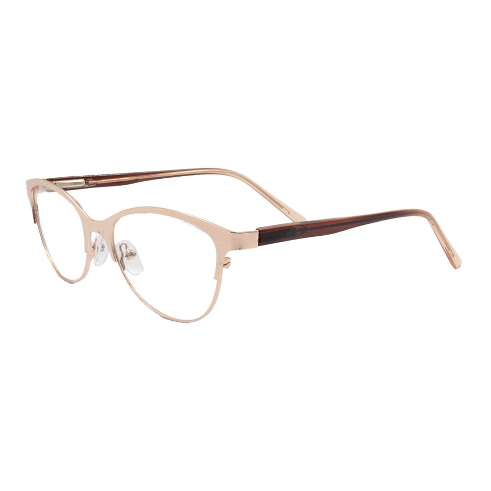 Armação para Óculos de Grau Feminino VC0707 Dourada