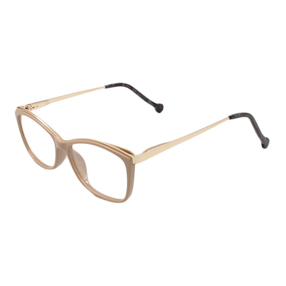 Armação para Óculos de Grau Feminino VHE782 Nude