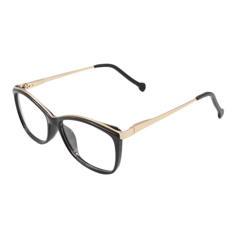Armação para Óculos de Grau Feminino VHE782 Preta