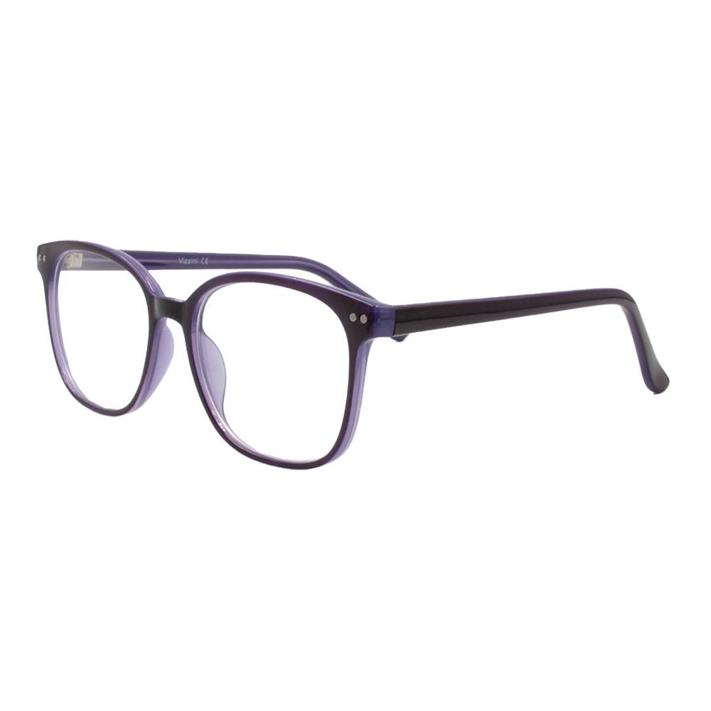Armação para Óculos de Grau Feminino VZ109 Preta e Roxa
