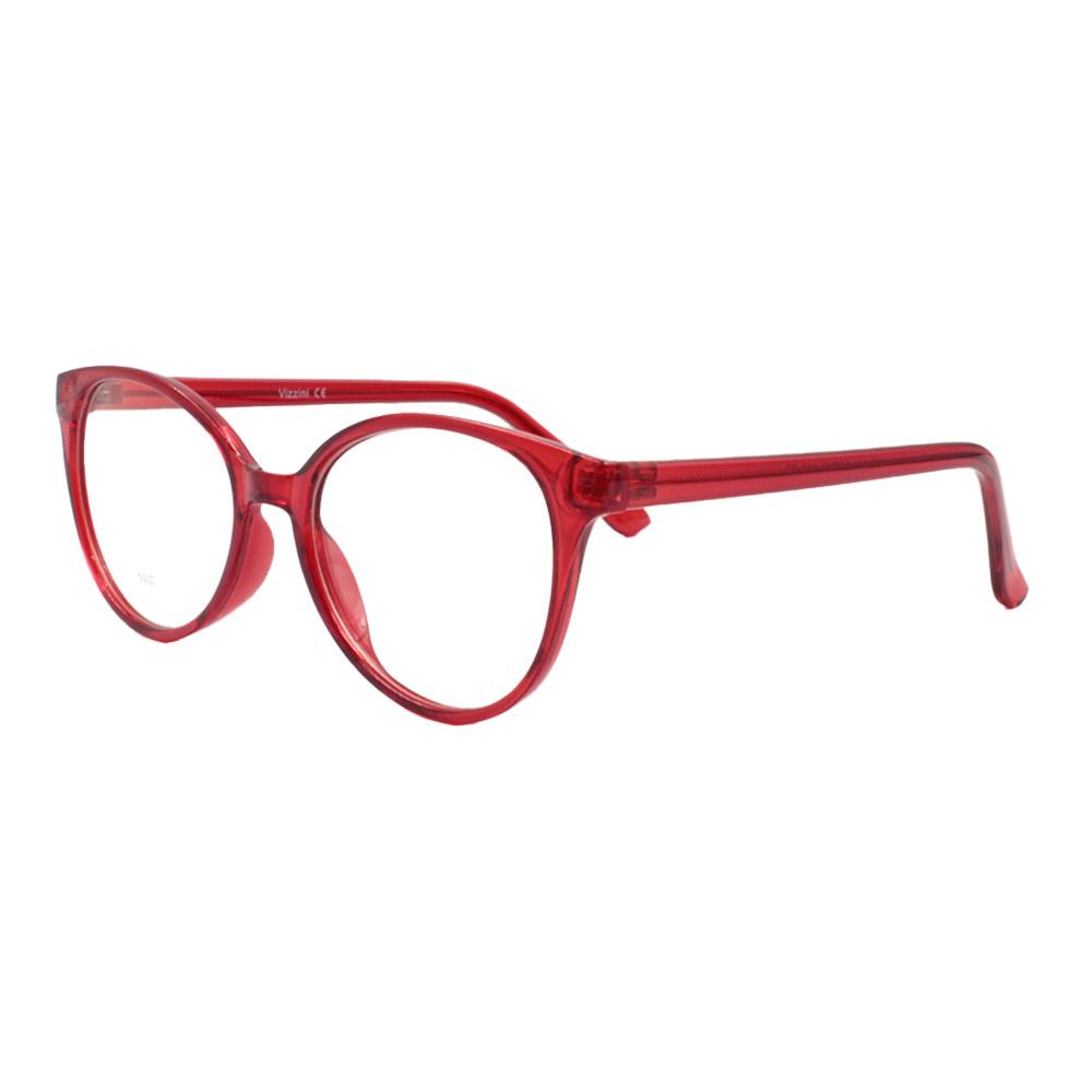 Armação para Óculos de Grau Feminino VZ114 Vermelha