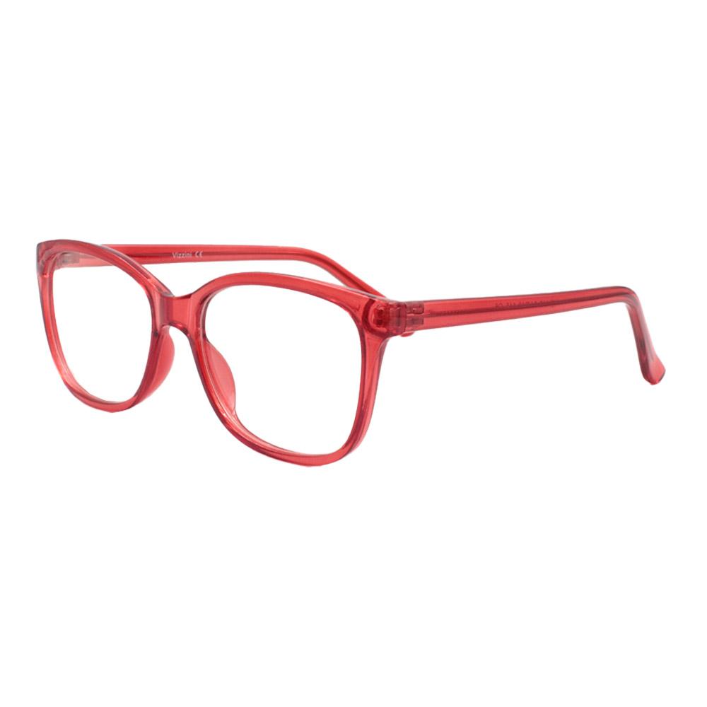 Armação para Óculos de Grau Feminino VZ117 Vermelha