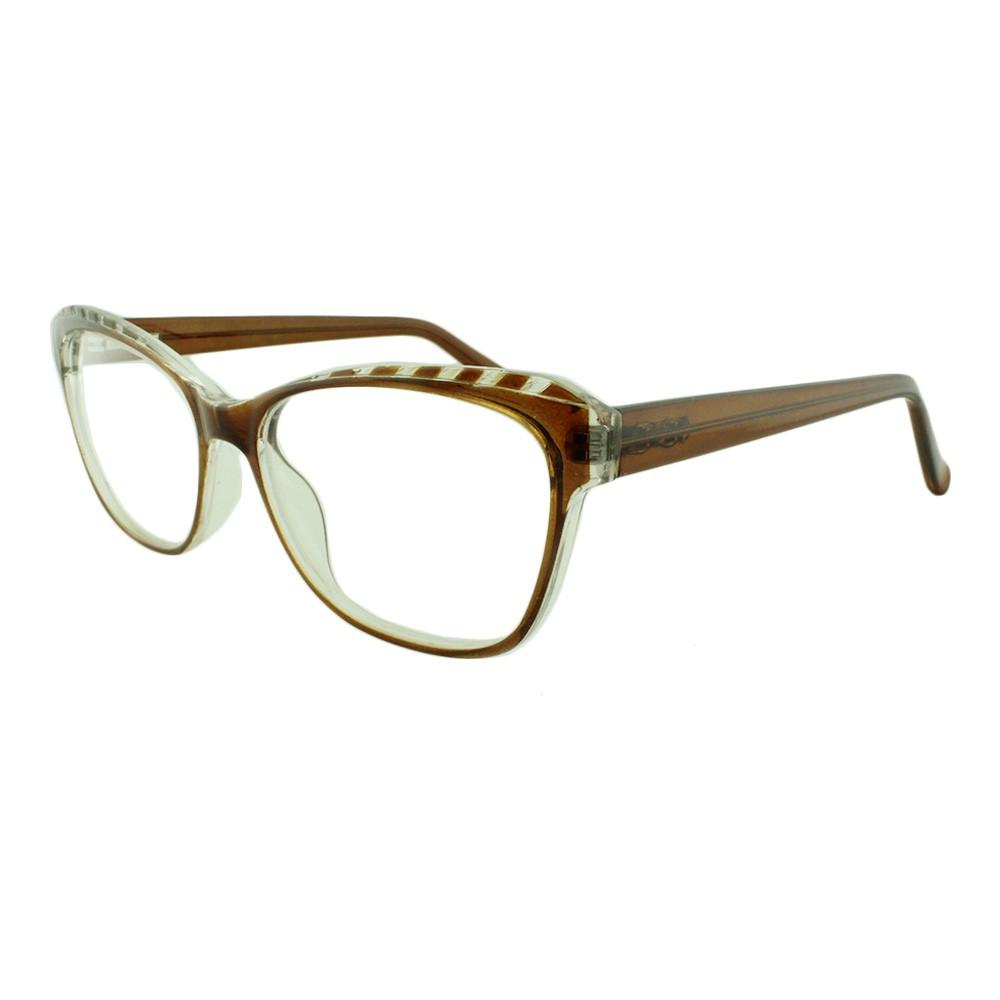 Armação para Óculos de Grau Feminino YF8031 Caramelo