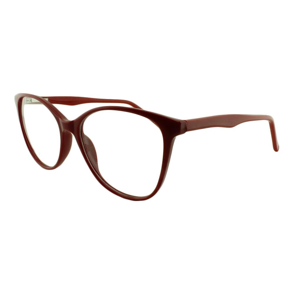 Armação para Óculos de Grau Feminino YF8034 Vermelha