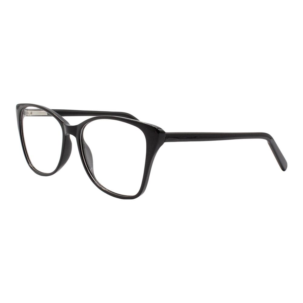 Armação para Óculos de Grau Feminino YF8037 Preta