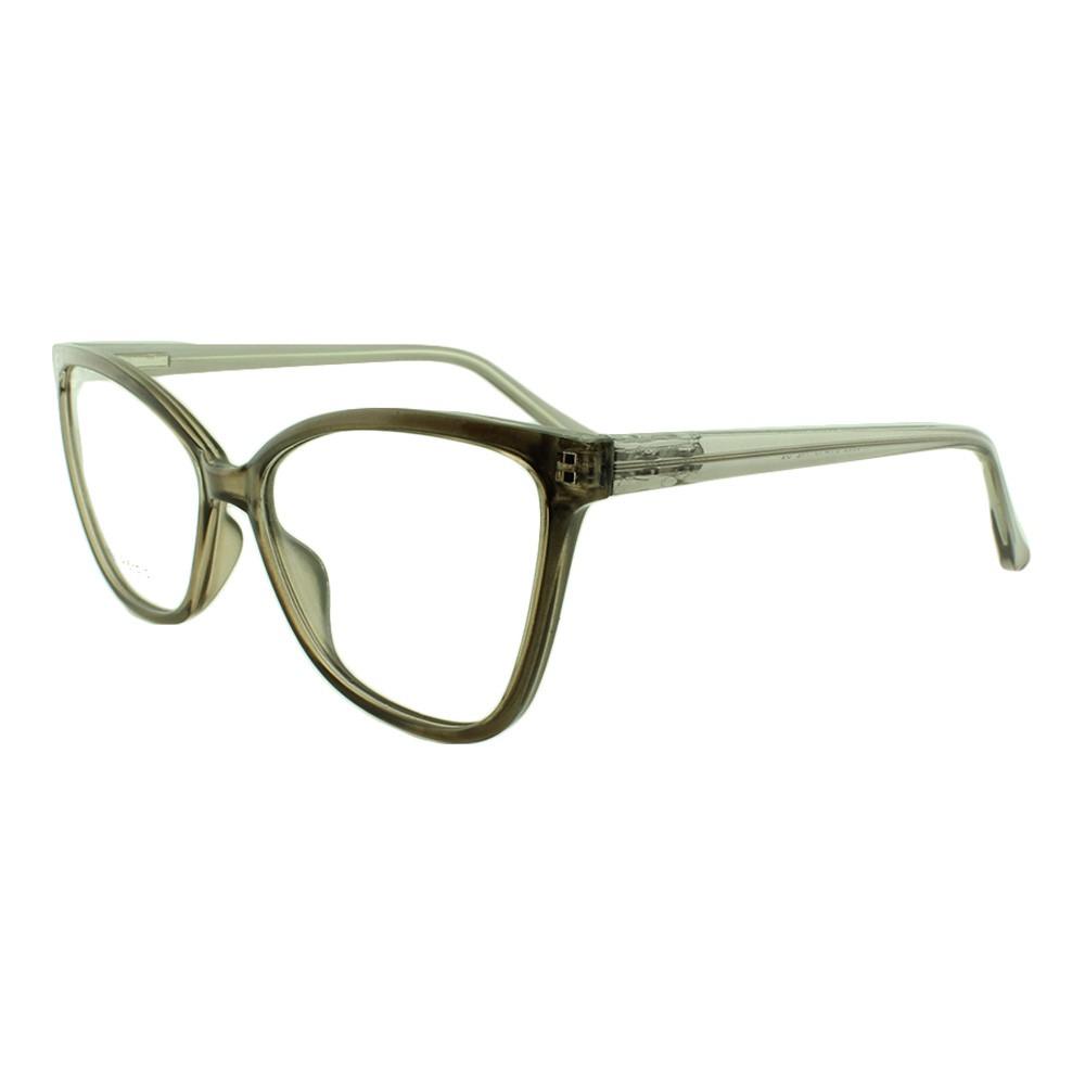 Armação para Óculos de Grau Feminino YF8039 Marrom