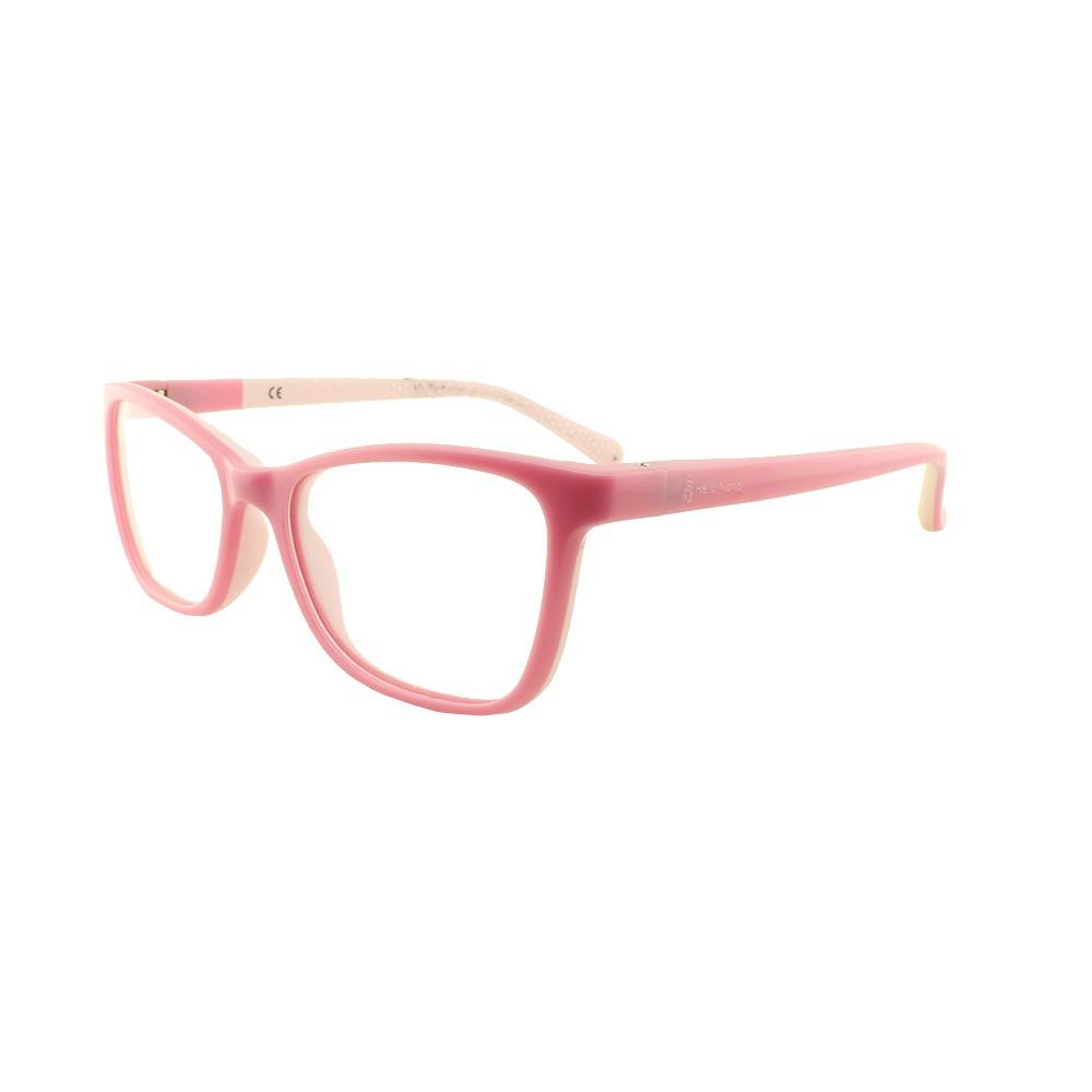 Armação para Óculos de Grau Infantil DT30013 Rosa Hello Nana