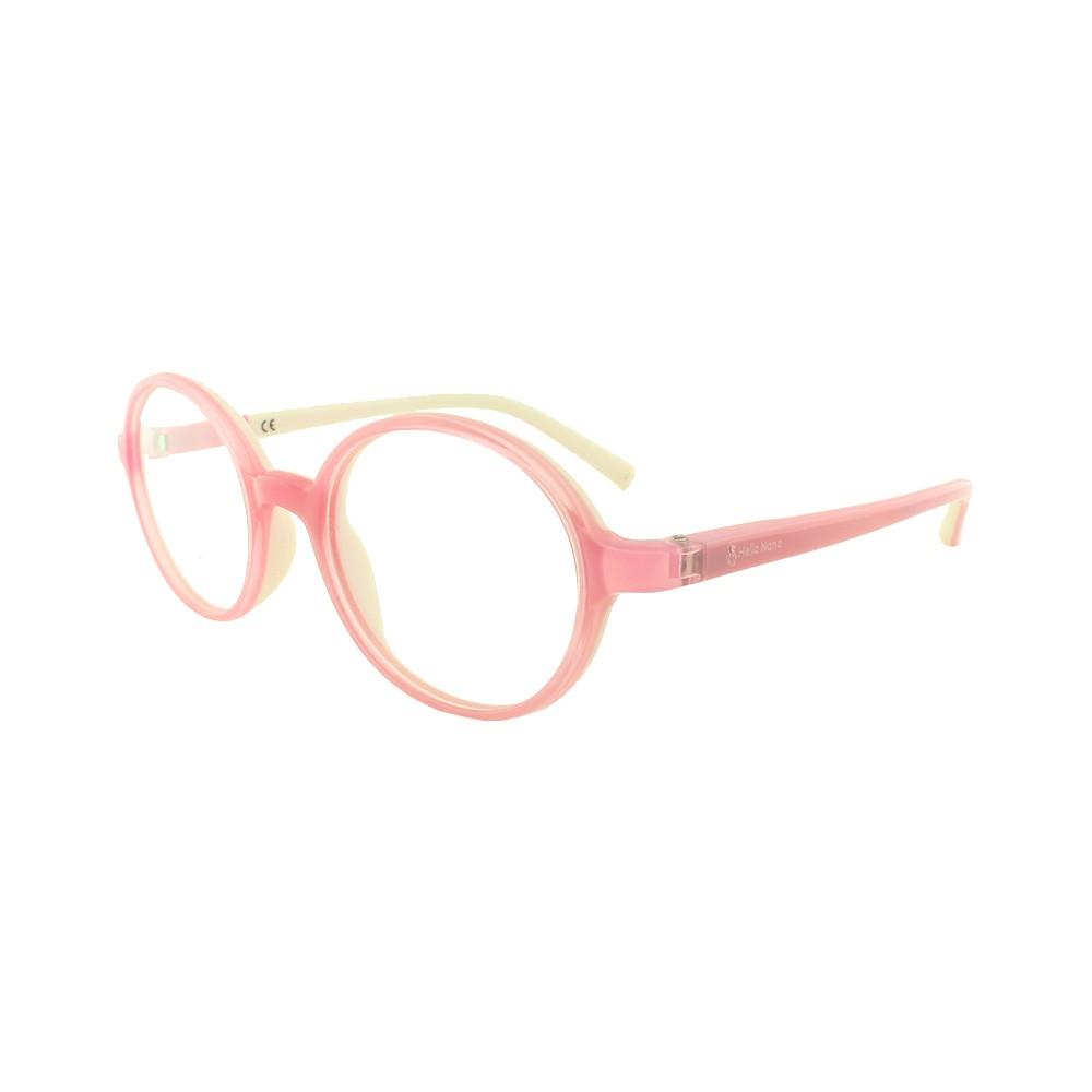 Armação para Óculos de Grau Infantil DT30018 Rosa Hello Nana