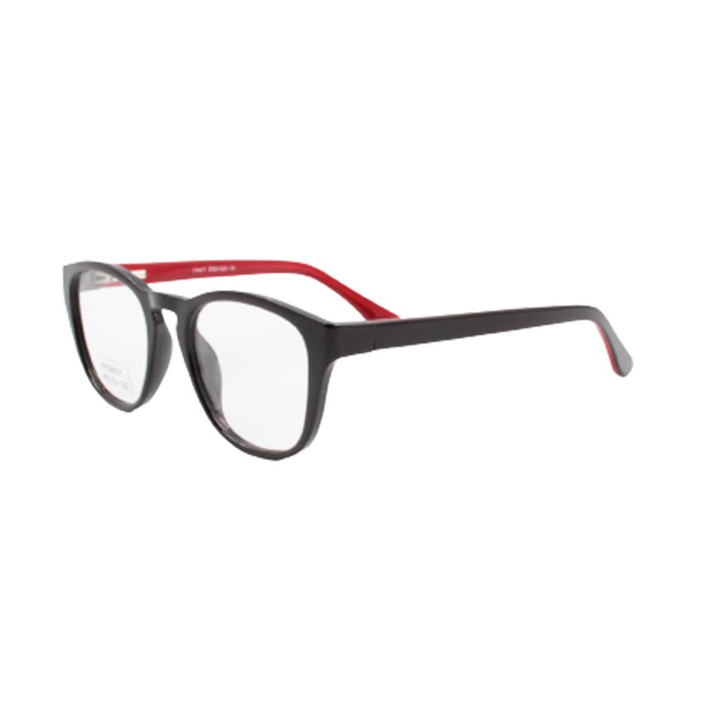 Armação para Óculos de Grau Infantil HY99031-C3 Preta e Vermelha