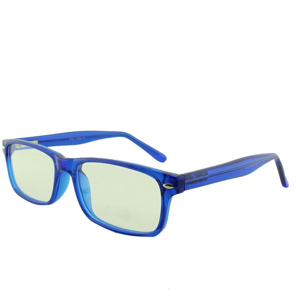 Armação para Óculos de Grau Infantil M24 Azul Translúcida