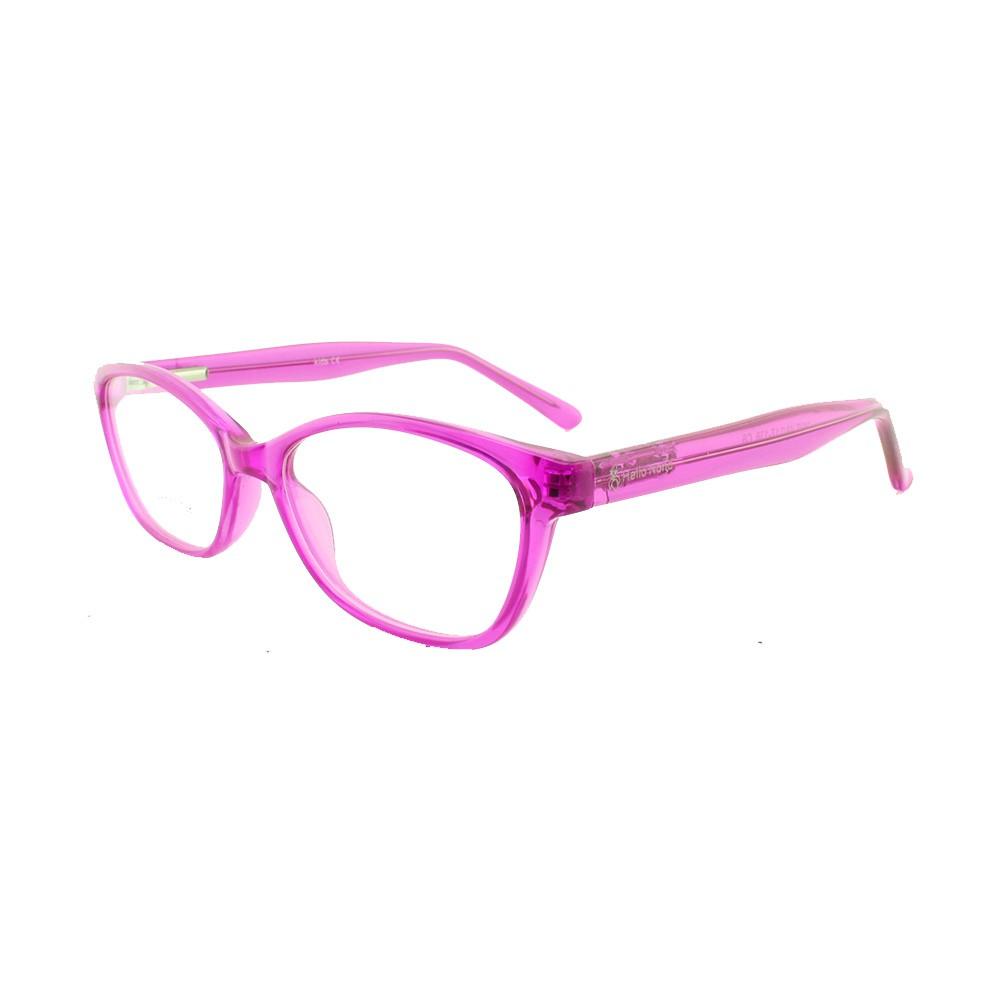 Armação para Óculos de Grau Infantil M27 Rosa Pink Hello Nana