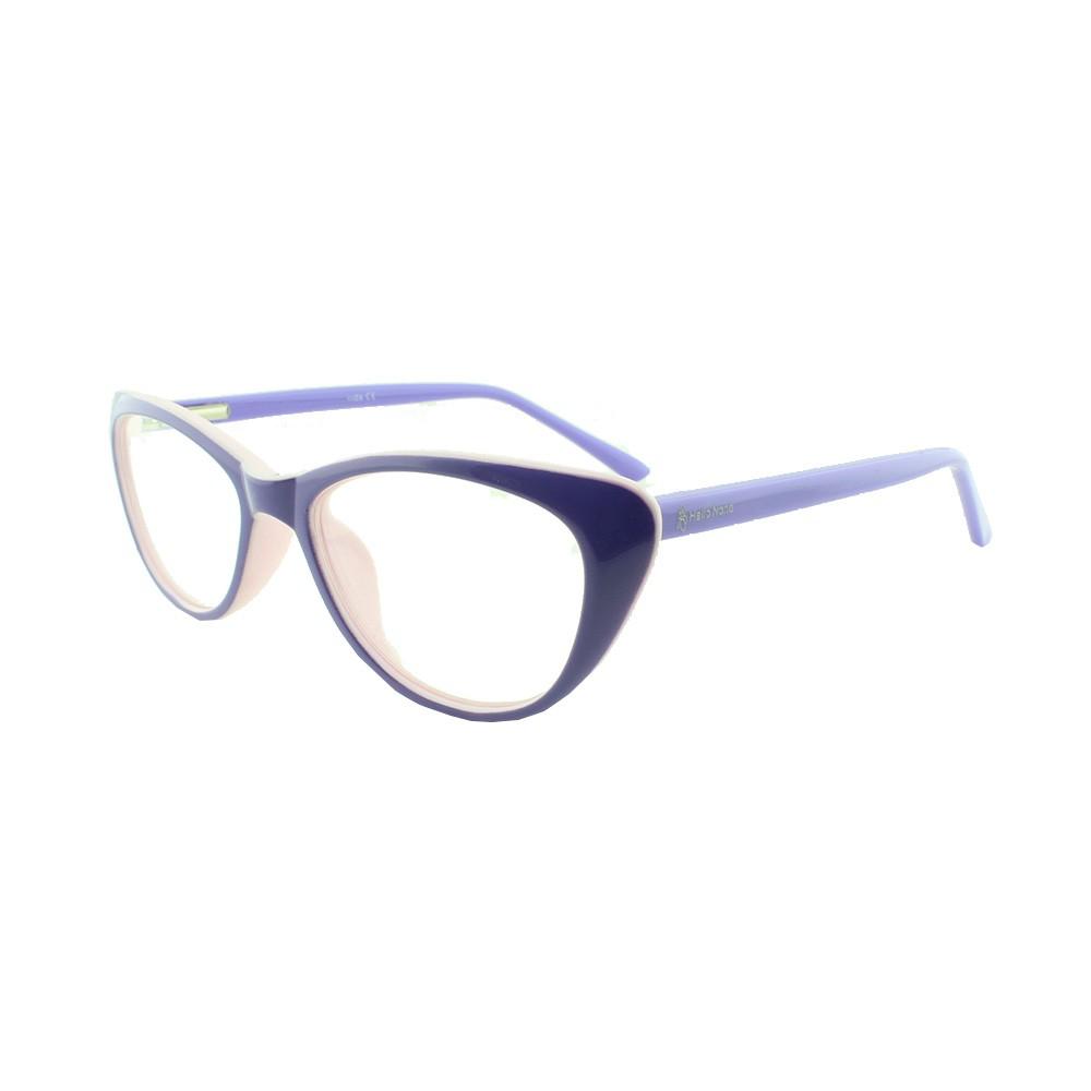 Armação para Óculos de Grau Infantil M31 Lilás e Rosa Hello Nana