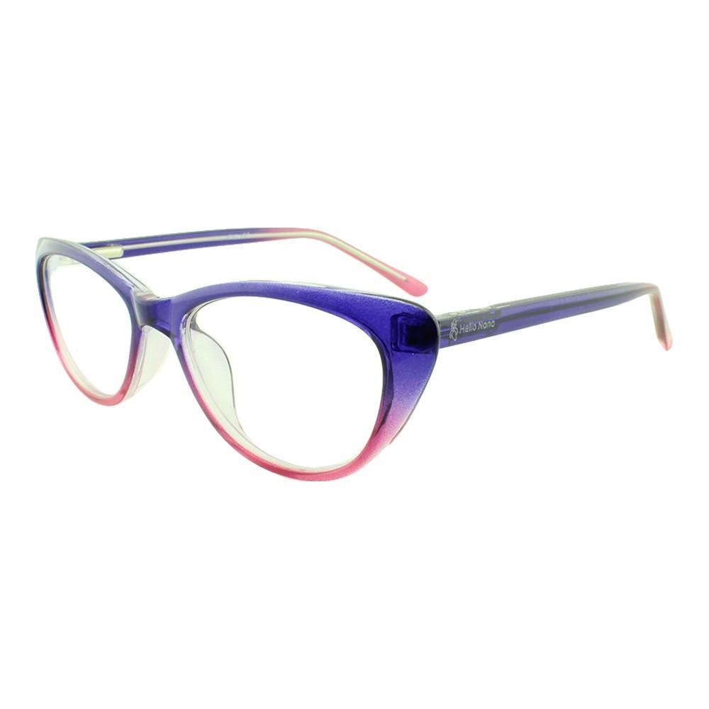 Armação para Óculos de Grau Infantil M31 Roxa e Rosa Degradê Hello Nana