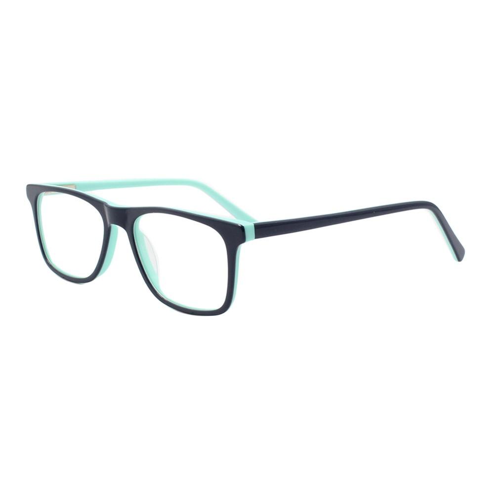 Armação para Óculos de Grau Infantil VCK002 Azul e Turquesa