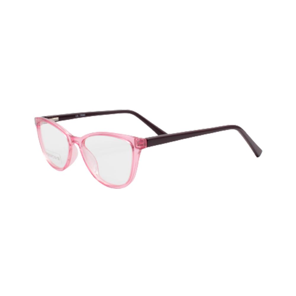 Armação para Óculos de Grau Infantil YY2015-C4 Rosa Translúcido