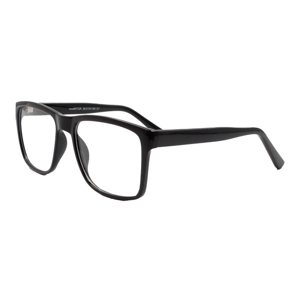 Armação para Óculos de Grau Masculino 57 Preta