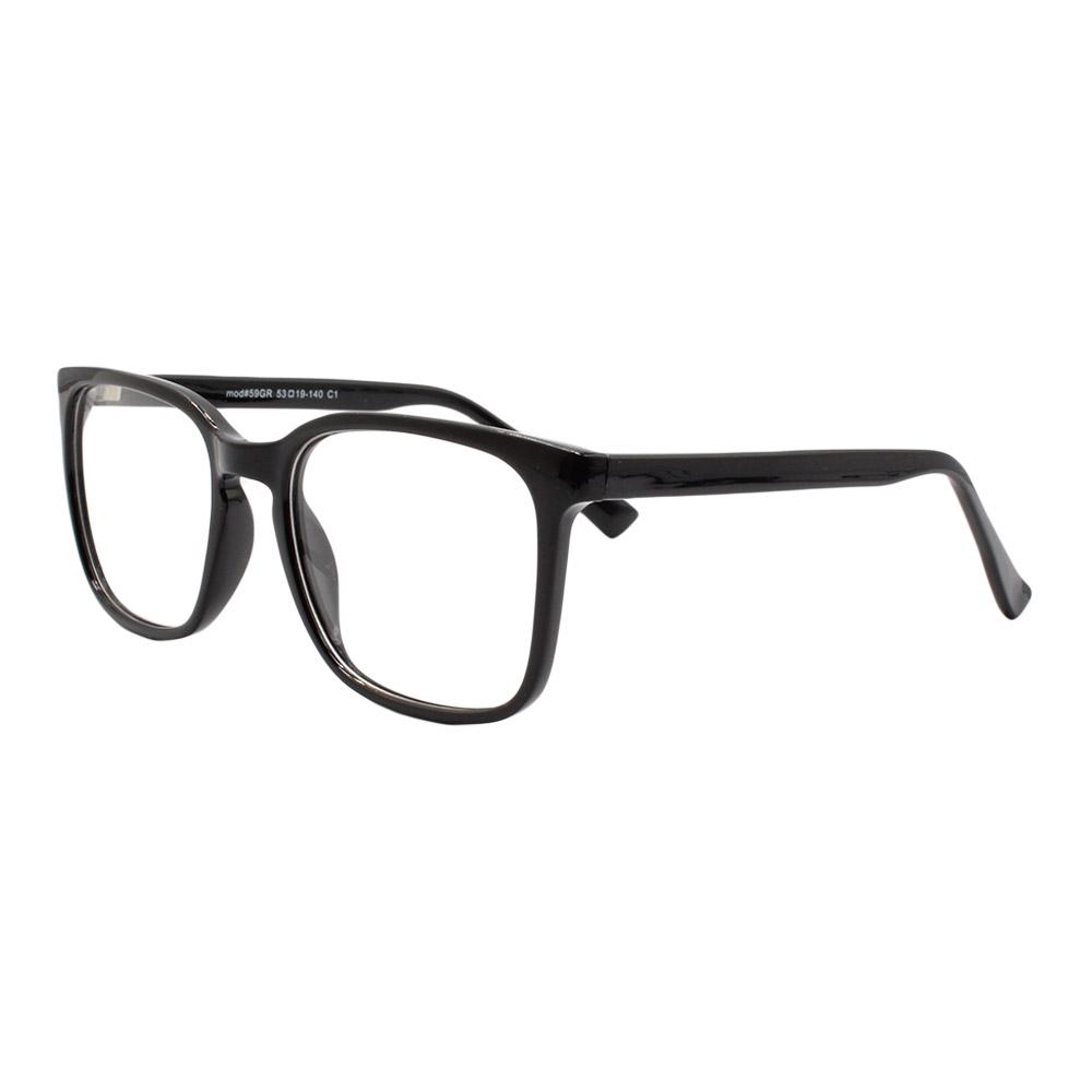 Armação para Óculos de Grau Masculino 59 Preta