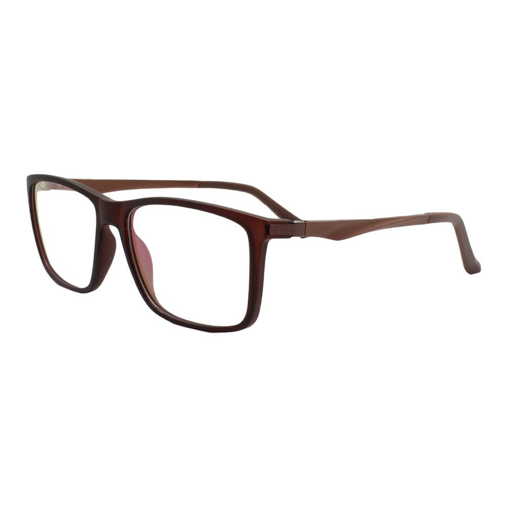 Armação para Óculos de Grau Masculino 9109 Marrom