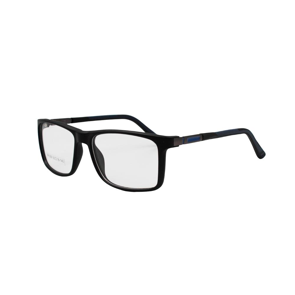 Armação para Óculos de Grau Masculino BR4269-C3 Preta e Azul