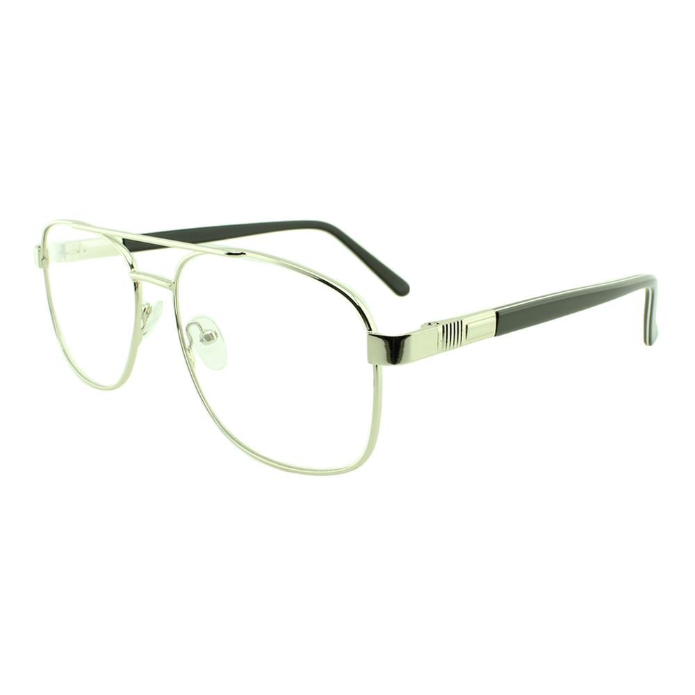 Armação para Óculos de Grau Masculino FB8009 Prata
