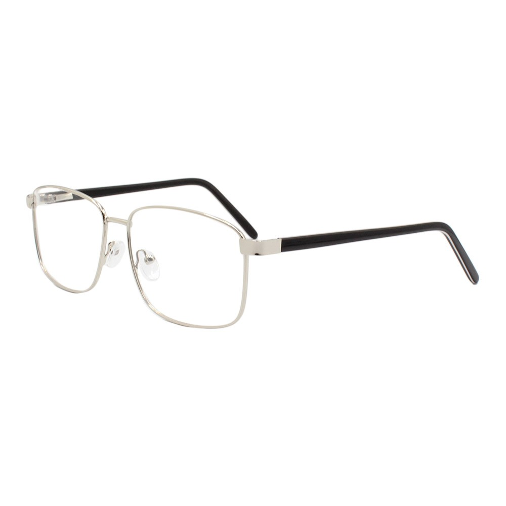 Armação para Óculos de Grau Masculino FB8011 Prata