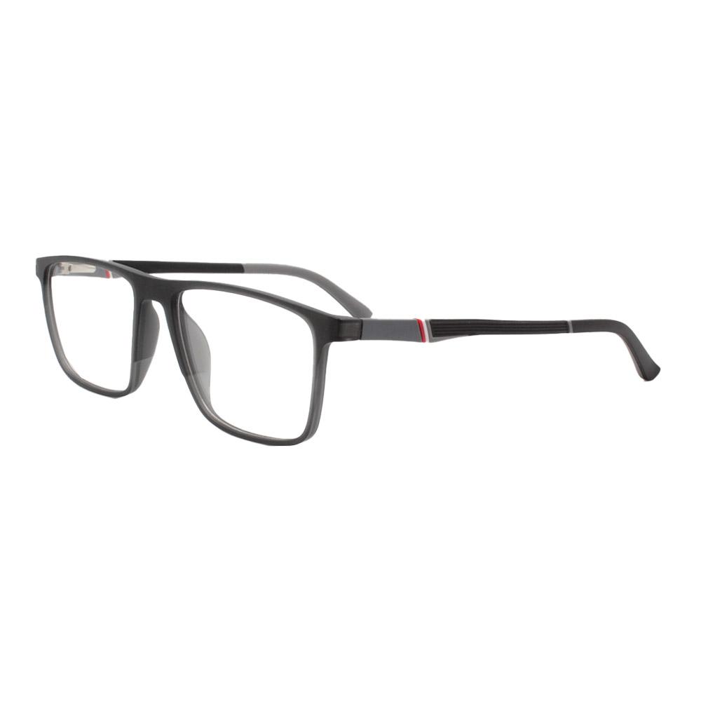 Armação para Óculos de Grau Masculino FD86001 Fumê