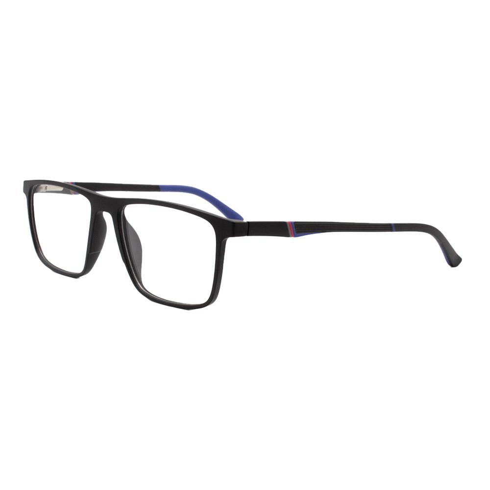 Armação para Óculos de Grau Masculino FD86001 Preta